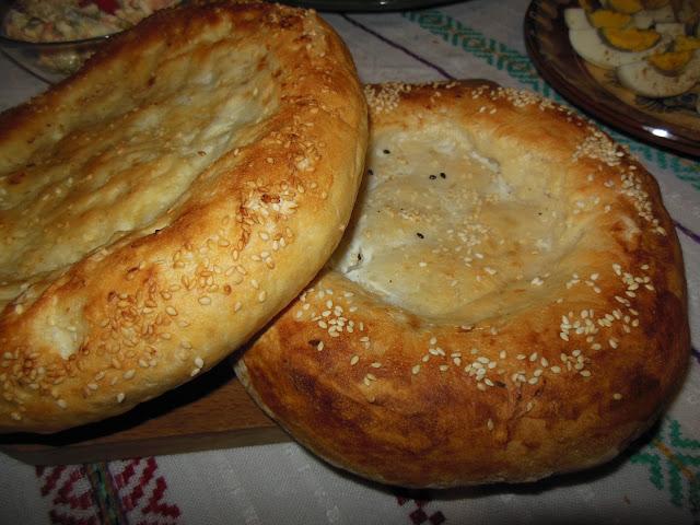 Едни вкусни питки или Азербайджански хляб чурек