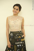 Taapsee Pannu in transparent top at Anando hma theatrical trailer launch ~  Exclusive 012.JPG