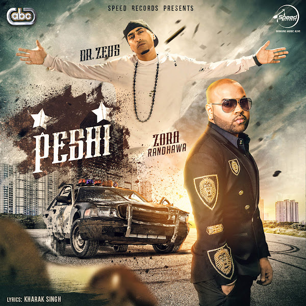 Zora Randhawa & Dr. Zeus - Peshi - Single Cover