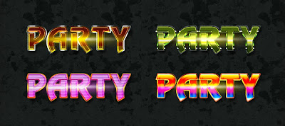 Party Photoshop Style
