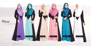 OLIVIA JUBAH DRESS SOLD OUT