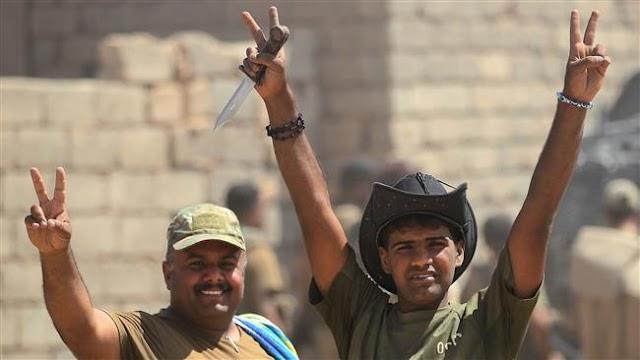 Iraq's Prime Minister Haider al-Abadi declares Tal Afar, Nineveh province free of Daesh