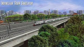 Indonesia Train Simulator v1.0.1 APK Terbaru