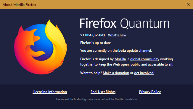 Image result for Firefox Quantum 57