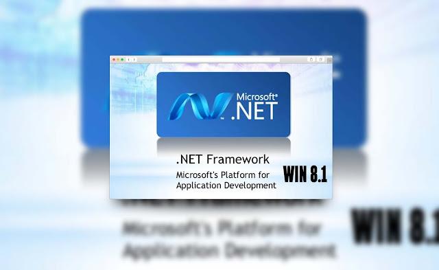 Microsoft .NET Framework Version 3.5 Untuk Windows 8.1