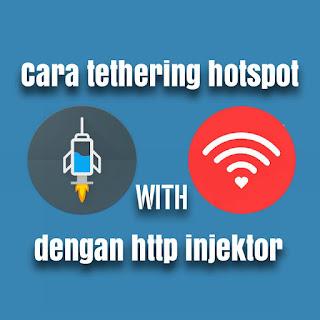 Cara Terthering Hotspot Http Injektor Ke PC Atau Laptop100% Work [Root Only]