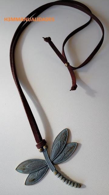 colgante-vintage-libélula