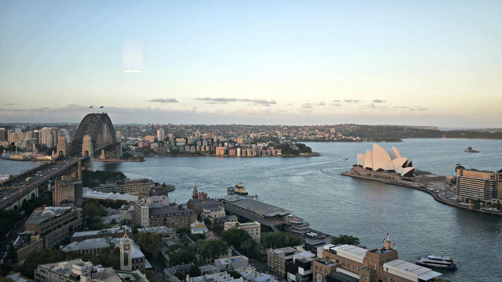 View from Shangri La Hotel Sydney