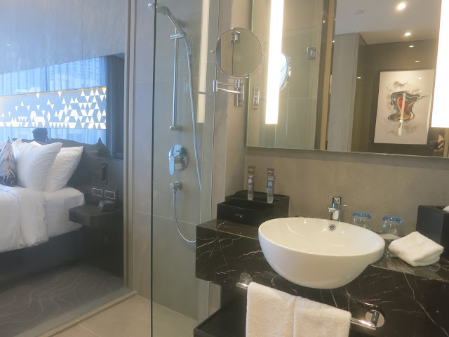 Novotel Singapore on Stevens - shower