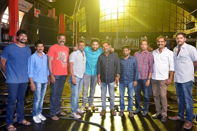 Last Day shoot of Janatha Garage