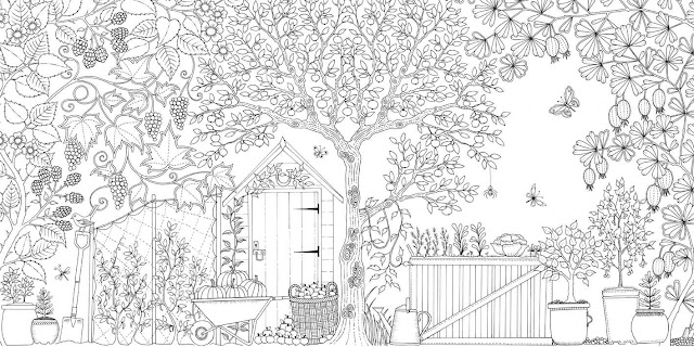 Meet Johanna Basford And Her Inky World Of Coloring