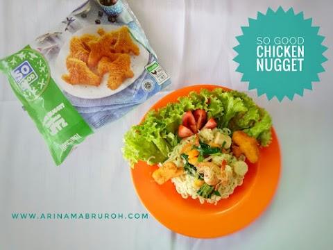 Kreasi Mie Capcay Nugget Ayam So Good Agar Anak Makan Sayur