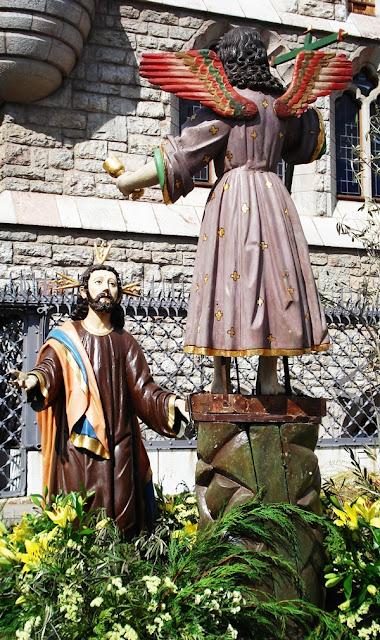 Paso La Oración del Huerto de Villademor de la Vega. Procesión Rosario de Pasión. León. Foto G. Márquez.