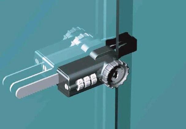 Sliding GLASS WINDOW Locks