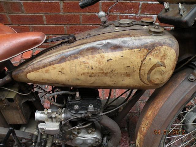 1928 Harley Davidson Ba Single: 1928 Harley Davidson Single B Model Flathead