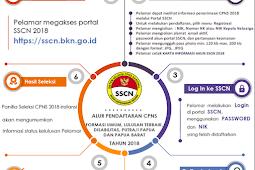 Cara Pendaftaran/Registrasi Akun SSCN 2018