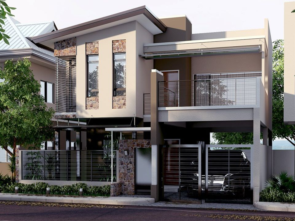 Nomeradona sketchup vr mini the making series 13 modern for Pictures of two story houses in the philippines