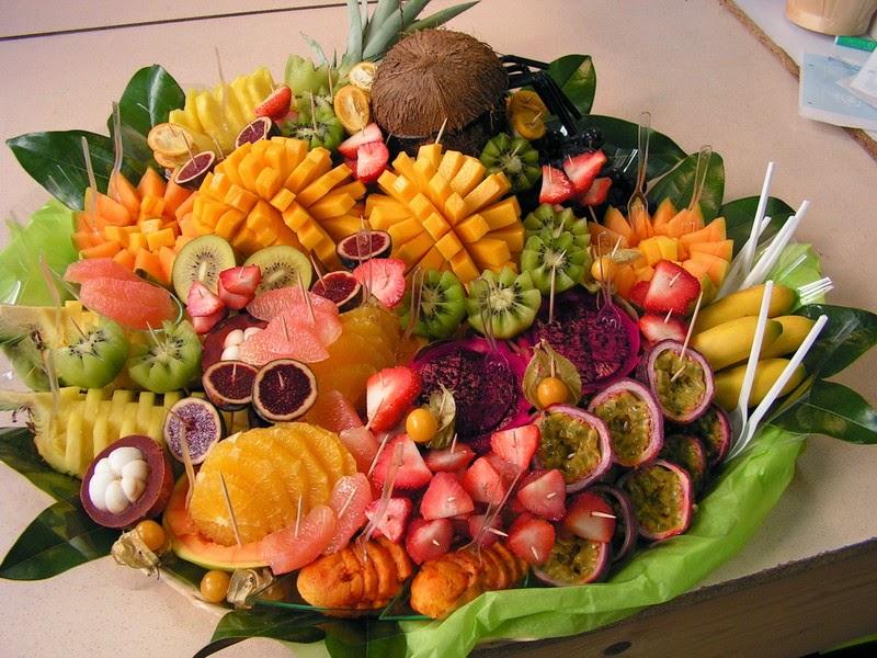Populaire LE TOUCANS PAELLA: Nouvelle présentation de fruits et légumes  ET93