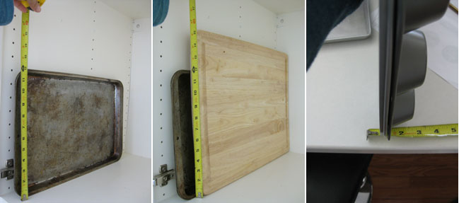 Diy Above Fridge Tray Divider Remodelando La Casa
