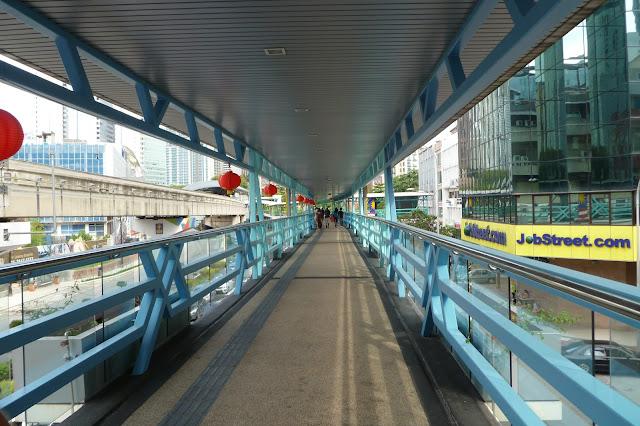 Kładka dla pieszych w Kuala Lumpur