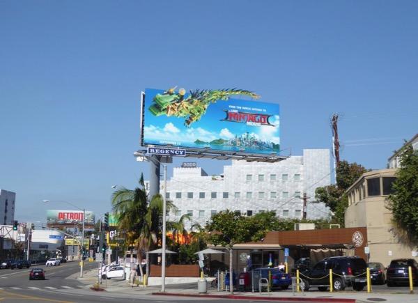 Lego Ninjago billboard