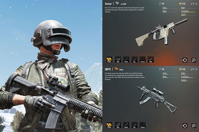 vector-vs-ump9-senjata-smg-terbaik-pubg-mobile