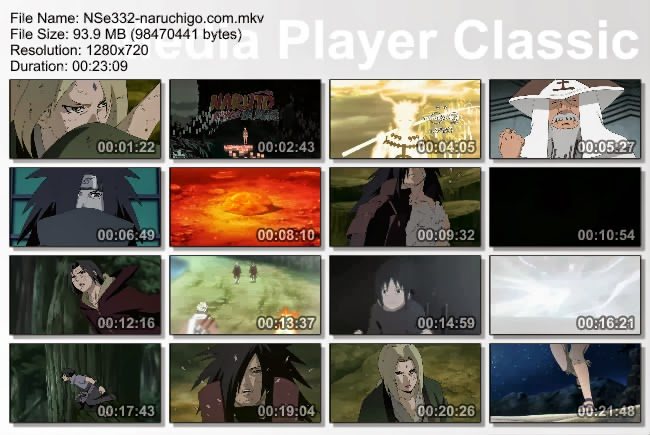 Naruto Shippuden Episode 332 English Sub