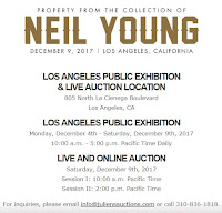 Neil Young Auktion Los Angeles
