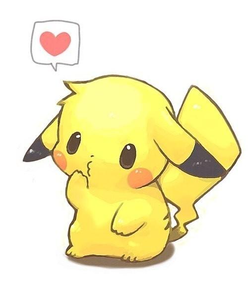 Chubby Pikachu Pokemon