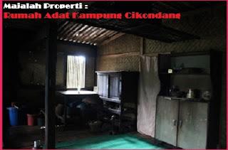 Desain Bentuk Rumah Adat Cikondang dan Penjelasannya, Arsitektur Nusantara