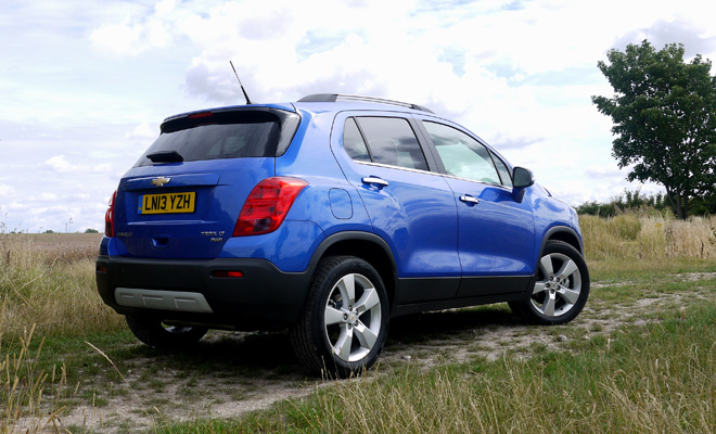 Chevrolet Trax rear view