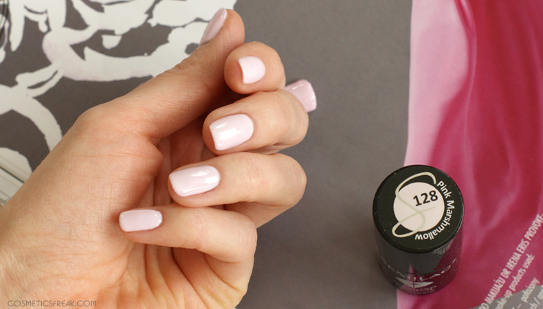semilac pink marshmallow