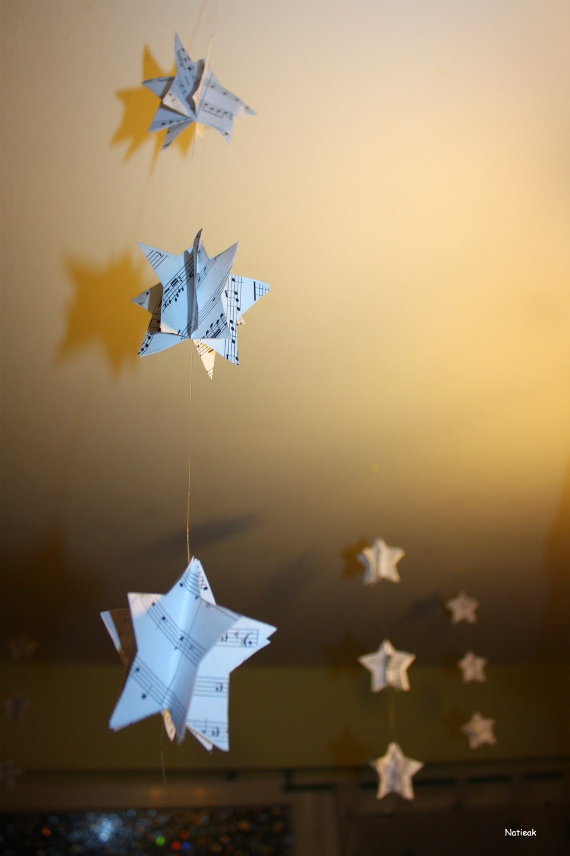 mini guirlande étoilées DIY Noël