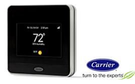 Carrier Lutron Caseta WiFi Thermostat