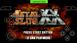 Jeu Gratuit Metal Slug XX ISO PPSSPP Pour Android