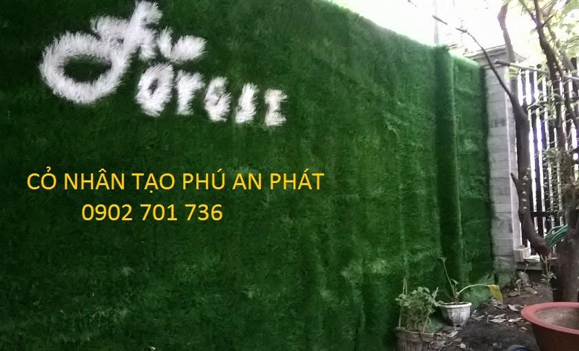 cỏ nhân tạo trang trí sân vườn