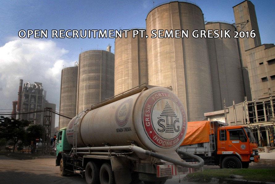 Lowongan Kerja PT SEMEN GRESIK 2016 Untuk Sarjana S-1