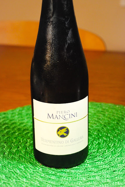Piero Mancini Vermentino di Gallura Photo by: Nicole Ruiz Hudson
