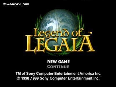 Legend Legaia PSX