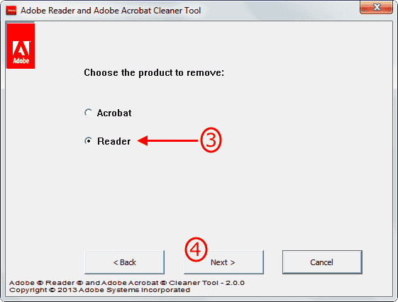 Adobe Cleaner Tool 3-4
