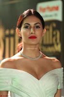 Amyra Dastur in White Deep neck Top and Black Skirt ~  Exclusive 031.JPG