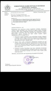 PENCAIRAN TUNJANGAN GURU BAGI LULUSAN SERTIFIKASI 2015 KEMENAG RI 2016