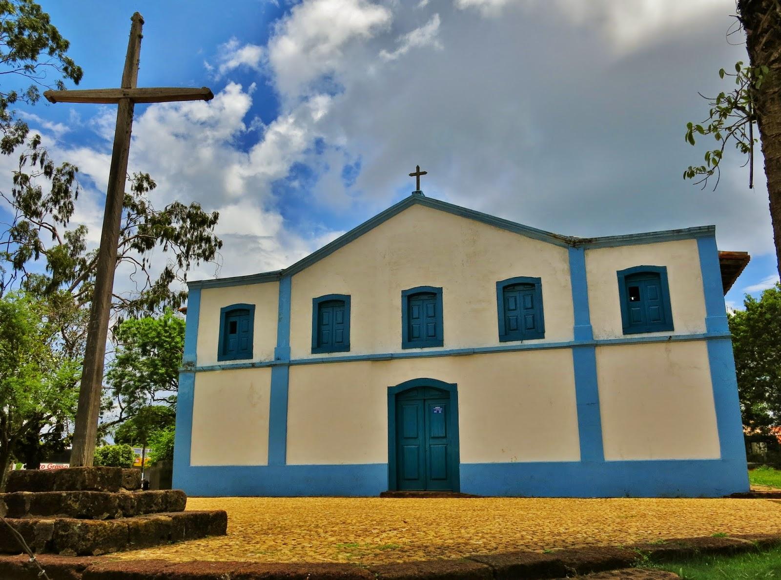 Igreja de Santana, na Chapada dos Guimarães