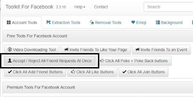 Facebook All Friend Request Ek Saath Accept/Reject Kaise Kare
