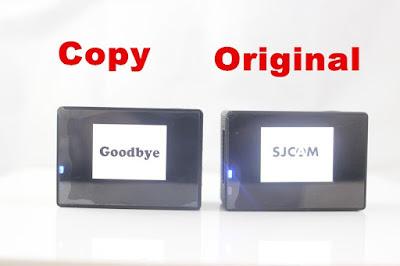 Perbedaan SJCAM SJ4000 Asli dengan Palsu - OmahDrones