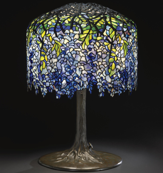 Aestheticus Rex: Tiffany Wisteria Lamp sets Record at