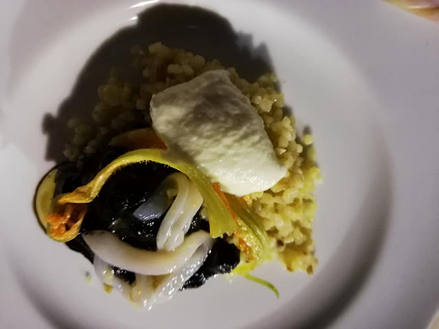 primo piatto al nero di seppia