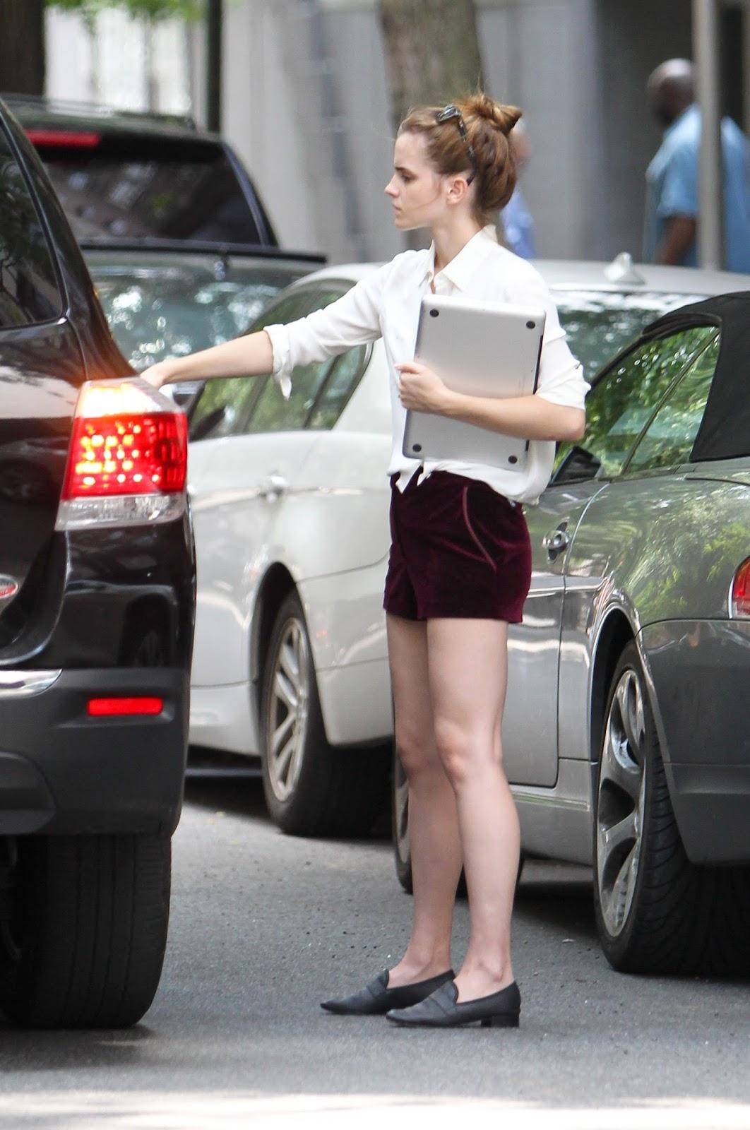 Emma Watson Updates Emma Watson In Manhattan Nyc July 11 2013