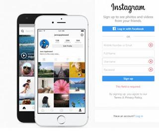 Inilah Cara Upload Foto Ke Instagram Lewat Pc