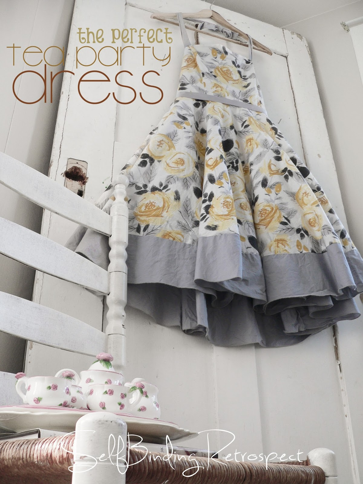 The Perfect Tea Party Dress - SelfBinding Retrospect by Alanna Rusnak